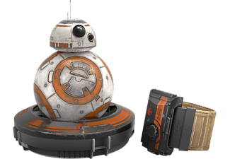 SPHERO Battle Worn BB8 + Force Band Star Wars - (R001SRW)