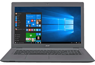 ACER Aspire E 17 (E5-772G-5123), Notebook mit 17.3 Zoll Display, Core™ i5 Prozessor, 8 GB RAM, 1 TB HDD, GeForce 940M, Schwarz/Grau