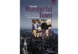 Kim Criswell, Audra Mcdonald, Thomas Hampson, Brent Barrett, Berliner Philharmoniker - Wonderful Town - (DVD)