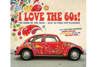 VARIOUS - I Love The 60s - (CD)
