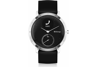 WITHINGS Activité STEEL HR, Active Tracker, 40 mm, Schwarz