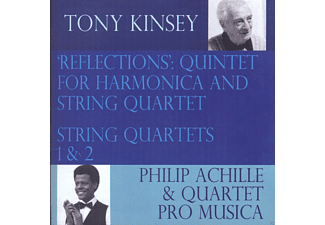 Philip Achille, Quartet Pro Musica - Kinsey: Reflections (String Quartets) - (CD)