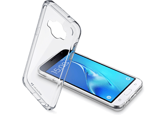 CELLULAR-LINE Clear Duo Galaxy J1 (2016) Transparant