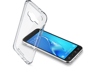 CELLULAR-LINE Clear Duo Galaxy J3 (2016) Transparant