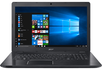 ACER Aspire F 17 (F5-771G-78FC), Notebook mit 17.3 Zoll Display, Core™ i7 Prozessor, 8 GB RAM, 128 GB SSD, 1 TB HDD, GeForce GTX 950M, Obsidian Black (Aluminium A- & C-Cover)
