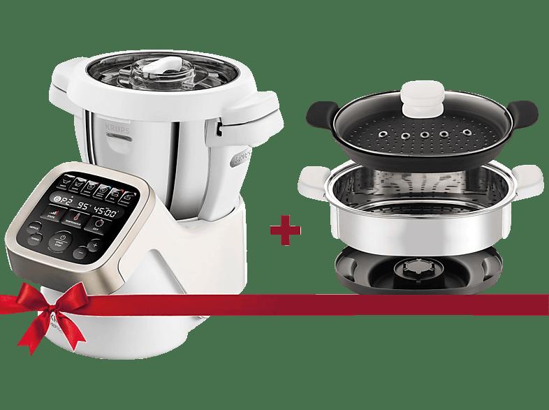 KRUPS HP5031.XMAS Prep&Cook Küchenmaschine mit Kochfunktion kaufen ...