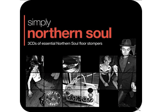 VARIOUS - Simply Northern Soul (3CD Tin) - (CD)