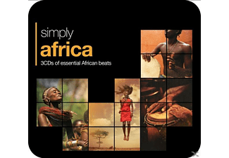 VARIOUS - Simply Africa (3CD Tin) - (CD)
