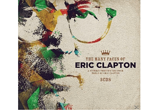VARIOUS - Many Faces Of Eric Clapton - (CD)