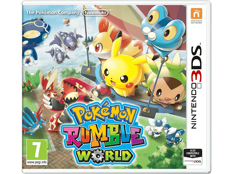 Pokemon Rumble World Nintendo 3DS gaming φορητές κονσόλες games 2ds  3ds gaming   offline nintendo 3ds παιχνίδια 3