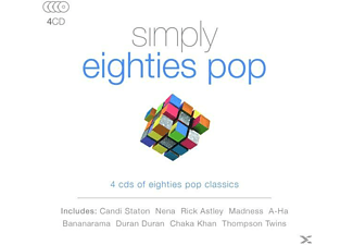 VARIOUS - Simply Eighties Pop [CD]
