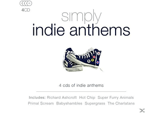 VARIOUS - Simply Indie Anthems [CD]