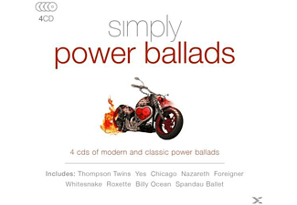 VARIOUS - Simply Power Ballads [CD]