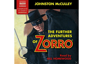 The further Adventures of Zorro - 5 CD - Hörbuch