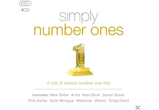 VARIOUS - Simply Numbers Ones [CD]