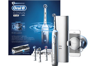 ORAL-B Genius 9000 Cross Action Uppladdningsbar Eltandborste - Vit