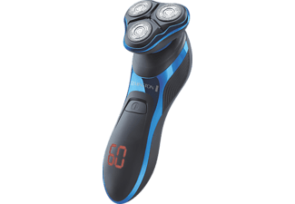 REMINGTON XR1470 HyperFlex Aqua Pro Herrenrasierer Schwarz/Blau (ActiveContour XL)
