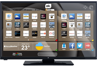 OK. ODL 32650 F-TIB, 81 cm (32 Zoll), Full-HD, SMART TV, LED TV, 300 Hz MP, DVB-T, DVB-T2 (H.264), DVB-T2 (H.265), DVB-C, DVB-S, DVB-S2