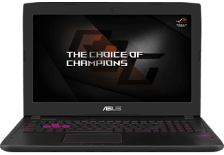 ASUS GL502VY-FY073T, Notebook mit 15.6 Zoll Display, Core™ i7 Prozessor, 8 GB RAM, 1 TB HDD, 256 GB SSD, GeForce GTX 980M, Black