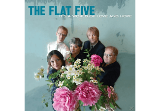 Flat Five - It's A World Of Love And Hope (Heavyweight LP+MP3) - (LP + Download)