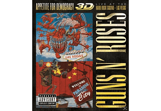 Guns N' Roses - Appetite For Democracy: Live (BR+2CD) (Folgev.) - (Blu-ray + CD)