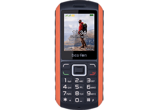 BEAFON AL550 Schwarz/Orange, Handy