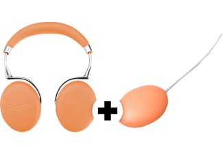 PARROT PF562107AA ZIK 3 Camel Leathergrain inkl. Charger Bluetooth On-Ear Kopfhörer Camel