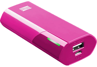 CELLULAR LINE SYCELL, Powerbank, 4400 mAh, Pink