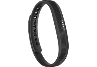 FITBIT  Flex 2, Activity Tracker, S-L, Schwarz