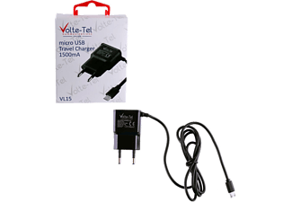 VOLTE-TEL Micro USB Travel VL15 1500mA 1.2m Black - (5205308164002)