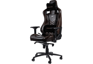 NOBLECHAIRS Epic Series Real Leather Gaming Chair - Brun/Svart
