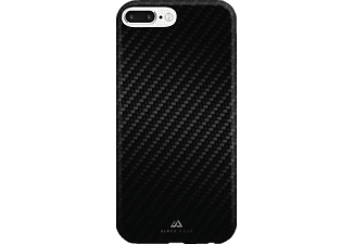 Flex-Carbon Backcover Apple iPhone 7 Plus Kunststoff/Mikrofaser/Polycarbonat (PC) Schwarz