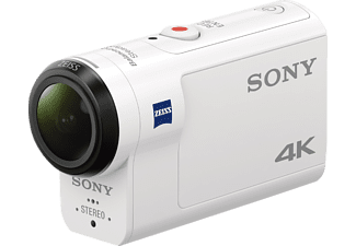 SONY FDRX3000R Actioncam, Bildstabilisator, WLAN, Near Field Communication, GPS, Weiß
