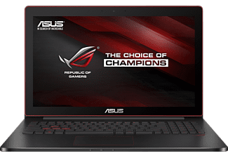 ASUS G501VW-FY108T, Notebook mit 15.6 Zoll Display, Core™ i7 Prozessor, 16 GB RAM, 512 GB SSD, Nvidia® GeForce GTX 960M