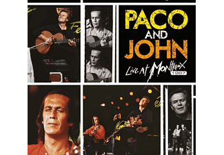 Paco De Lucia, John McLaughlin - Paco & John-Live At Montreux 1987 - (CD + DVD Video)
