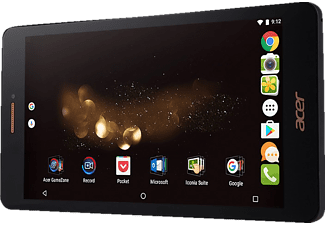 ACER Iconia Talk S (A1-734), Tablet mit 7 Zoll, 16 GB Speicher, 2 GB RAM, Android 6.0 (Marshmallow), Schwarz/Gold
