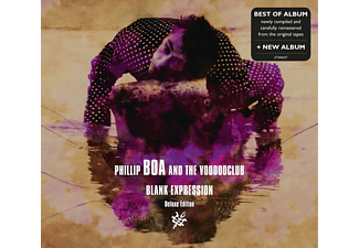 Phillip And The Voodooclub Boa - BLANK EXPRESSION (DELUXE EDT.BEST OF+NEW ALBUM) [CD]