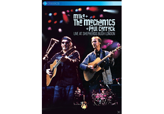 Mike & The Mechanics, Paul Carrack - LIVE AT SHEPHERDS BUSH LONDON - (DVD)