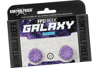 KONTROLLFREEK PS4-103 Galaxy Purple Buttons für Gamepad, Button für Gamepad