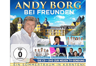 VARIOUS - Andy Borg bei Freunden - (CD + DVD Video)