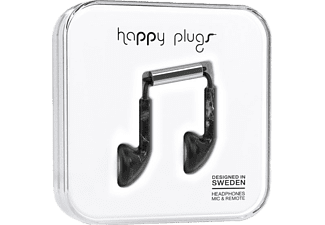 HAPPY PLUGS EARBUD - Svart Marmor