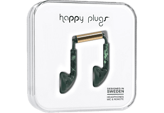 HAPPY PLUGS EARBUD - Grön Marmor