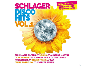 VARIOUS - Schlager Disco Hits Vol.1 - (CD)