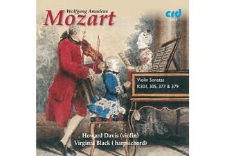 Howard Davis, Virginia Black - Violinsonaten K 301,K 305,K 377,K 379 - (CD)