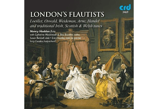 Nancy Hadden, VARIOUS - London's Flautists - (CD)