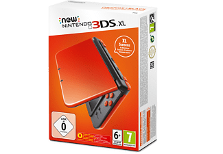 NINTENDO New 3DS XL - Svart/ Orange