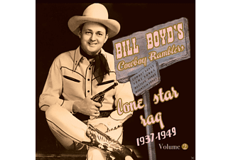 Bill Boyd's Cowboy Ramblers - Vol.2-Lone Star Rag 1937-49 - (CD)