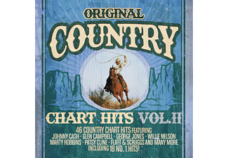 VARIOUS - ORIGINAL COUNTRY CHART HITS 2 [CD]