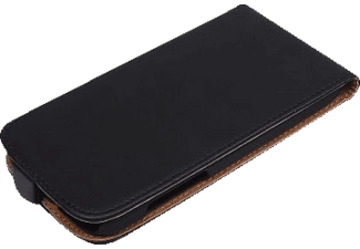 AGM 26422 Flip Cover Apple iPhone 7 Kunstleder (Obermaterial) Schwarz