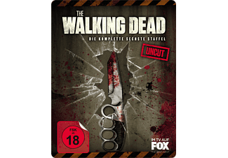 The Walking Dead - Staffel 6 Uncut (Limitiertes exklusives Steelbook nur bei Media Markt) [Blu-ray]